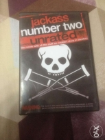 Jackass Number Two Unrated DVD Movie For Sale