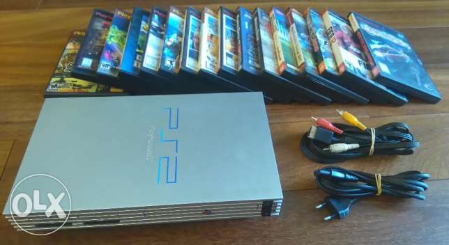 PS2 - Sony Playstation 2 + Games
