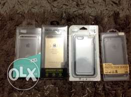 4 covers for iphone 6/ 6s like new