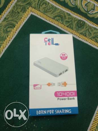 """Cell tell"" power bank 10400 mA"