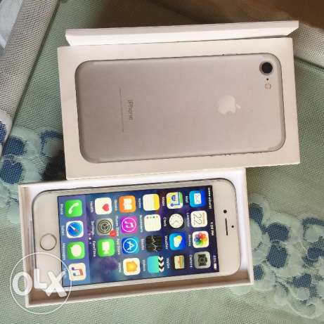 iphone 7 selver new