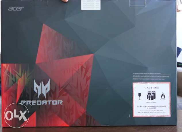 متبرشم Acer Predator 15 Gaming Laptop