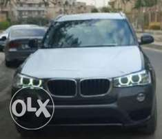 BMW X3 model 2017 gray Zero 3000Cc