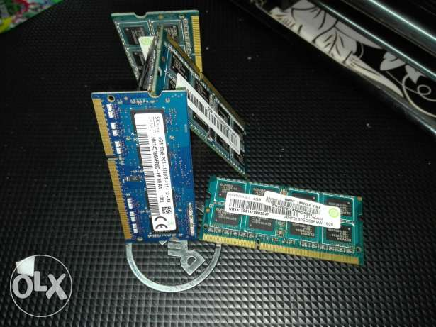 Ram laptop ddr3 4gb/8gb used original