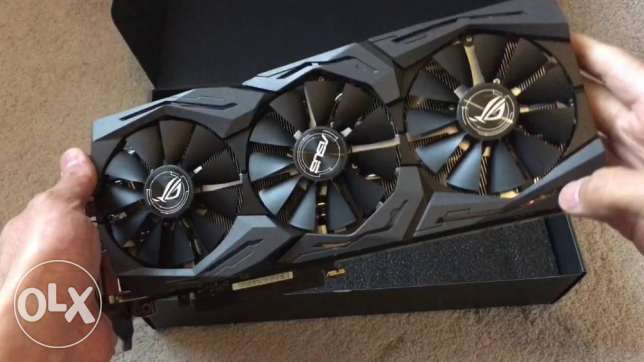 Asus ROG strix GTX 1080 8gb0