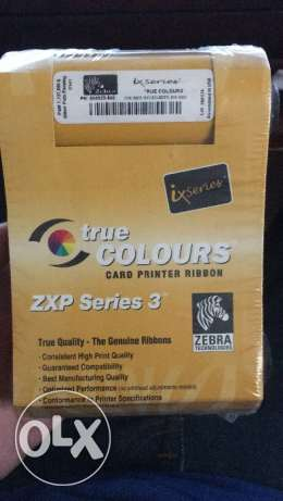 true colors card printer ribbon zxp series 3