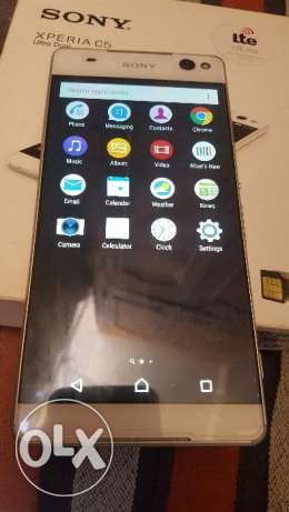 Sony c5 selfi 13mp front