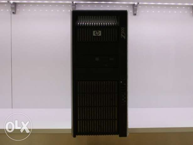 HP Workstation Z800 (6 Cores, 6G Graphics Card)