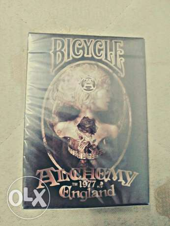 Bicycle Alchemy II 1977 England playing cards
