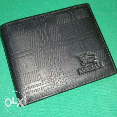 Burberry Black Wallet