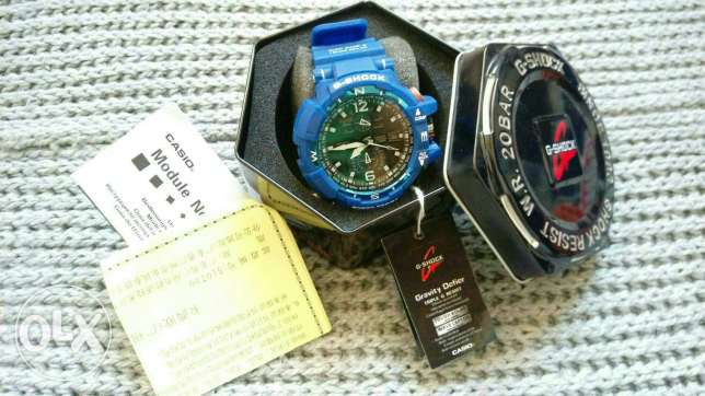 Blue Casio G Shock
