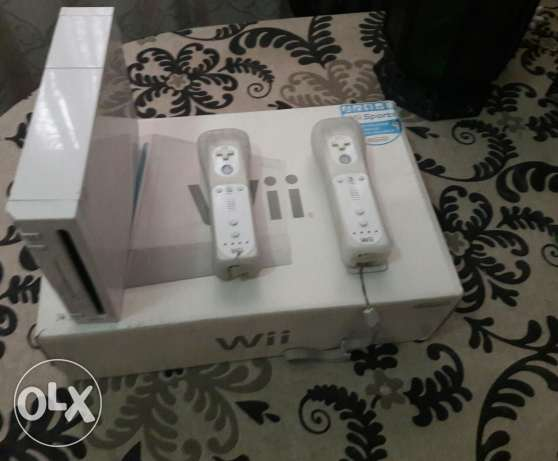 Wii video game