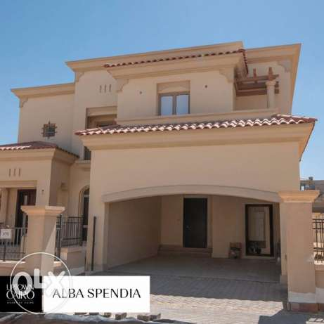 Uptown cairo villa in Alba spendia for sale fully finished