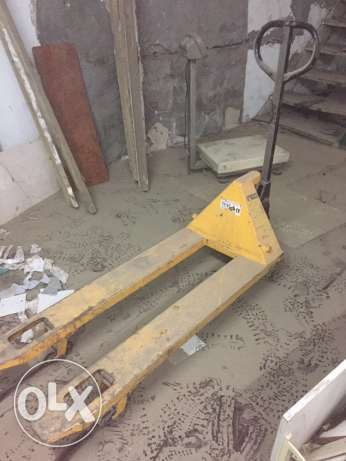 hand palette &manual fork lift