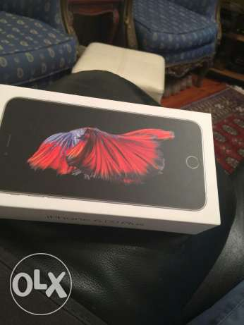 Iphone 6 S plus-brand new-sealed with 12months warantee المعادي -  2