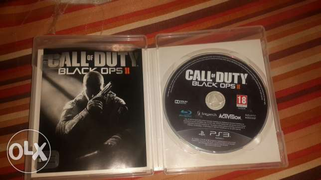 Ps3 games for sale only (call of duty black ops2&tombraidrer)
