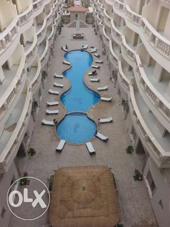 Hot Offer Apartment for sale in Nour Plaza resort 82m2 Garden view الغردقة -  5