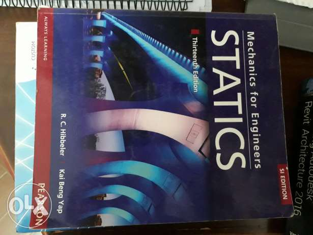 Statics book for engineers