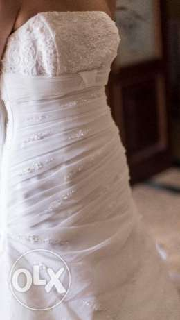 Bride dress tall Fishtail and Halter (special order) - فستان زفاف
