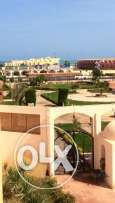 Flat in Al Ahia, in compound with a sw. pool, near sea, 120m, 2 bedr