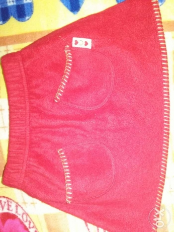 """Red skirt for kid so pretty """"st michael"""" brand from UK"""