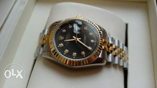 Rolex Datejust dial gold العباسية -  1