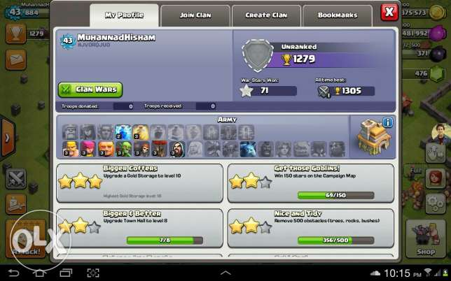 Clash Of Clans Townhall 7