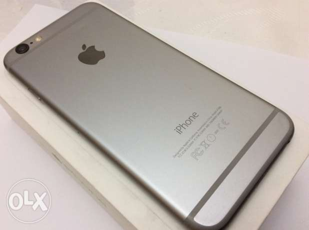 iPhone 6 64gb Space Gray excellent condition المنتزه -  2