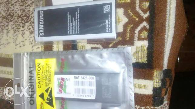 Battery Iphone 5&6& sam note4