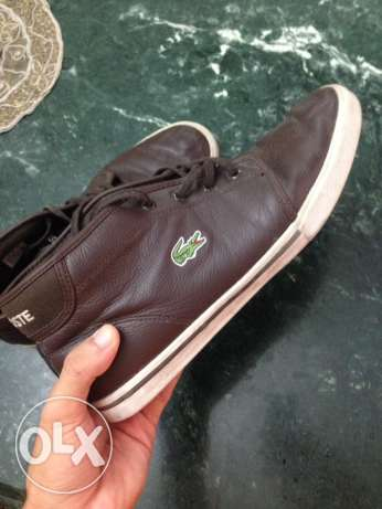 Leather Lacoste shoes