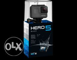GoPro Hero 5 Black - Sealed - متبرشمة