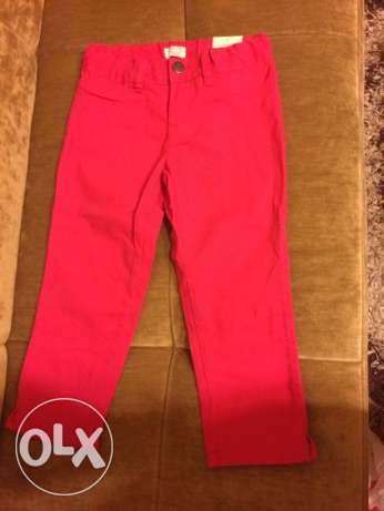 pink jeans girls size 8 new