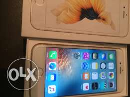 iPhone 6s gold 16 gb as zero with warranty
