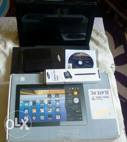 Tablet laptop Samsung slate XE700T1A06US core I5 in excellent conditio عين شمس -  1