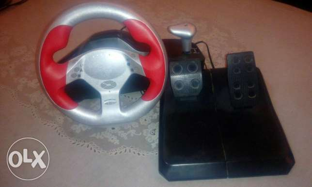 String wheel for ps2 and laptop
