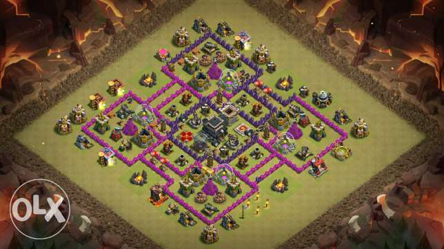 كلاش اوف كلانس -clash of clans