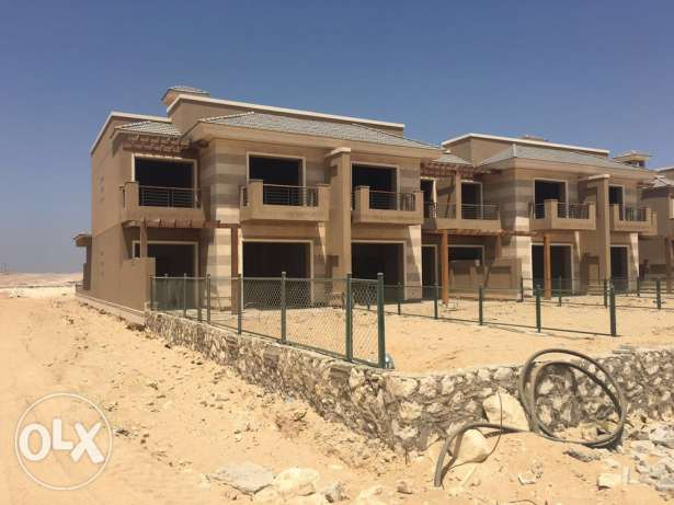 corner townhouse for sale in New Giza