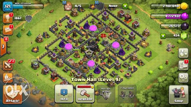 clash of clans for sale
