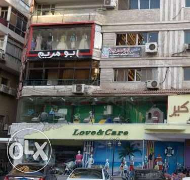 store for rent in abbas el akkad street with area 700 square meters
