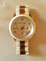 Original Michael Kors Runway time teller watch