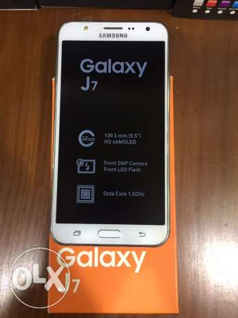 Samsung Galaxy J7/Very VeryGood Condition/All accessories/With Warra مدينة نصر -  3