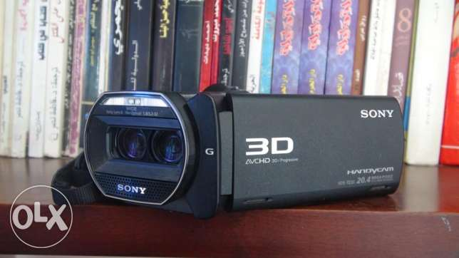 90full hd 3d handycam SONY HDR-TD30VE for sale قويسنا -  4