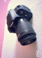 Canon 700d with 18/55