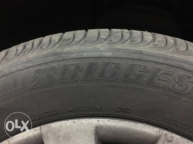 كاوتش بريدجستون تركي Bridgestone turkish used tires
