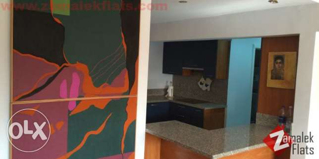 nile view apartment for rent in Zamalek الزمالك -  5