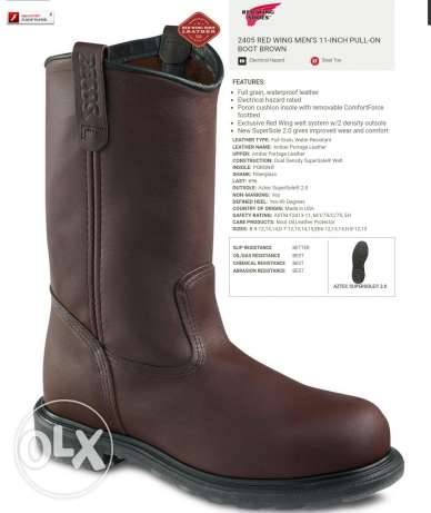 Redwing Safety boot # size 46