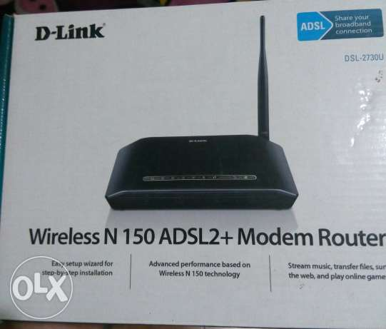 Router D-link wireless N 150