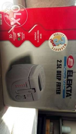 new elekta deep fryer