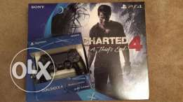PlayStation 4 Slim 500GB Console-Uncharted 4 Bundle+ Extra controlle