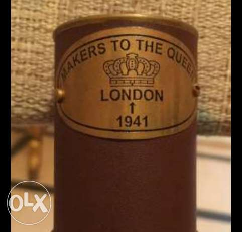 An old and rare telescope made for the Queen